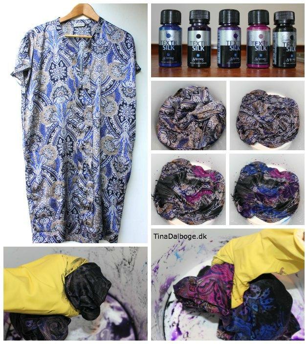 se hvordan man kan farve silke på en let måde