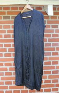 silkekjole der er blevet farvet ide fra tina dalbøges kreative blog