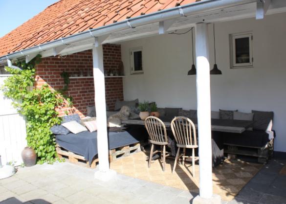 terrasse og havemøbler af paller