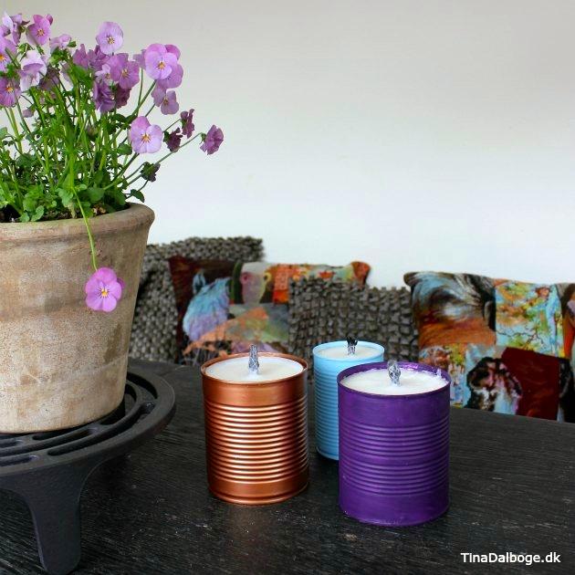 udendørslys lavet i konservesdåse tinadalboge
